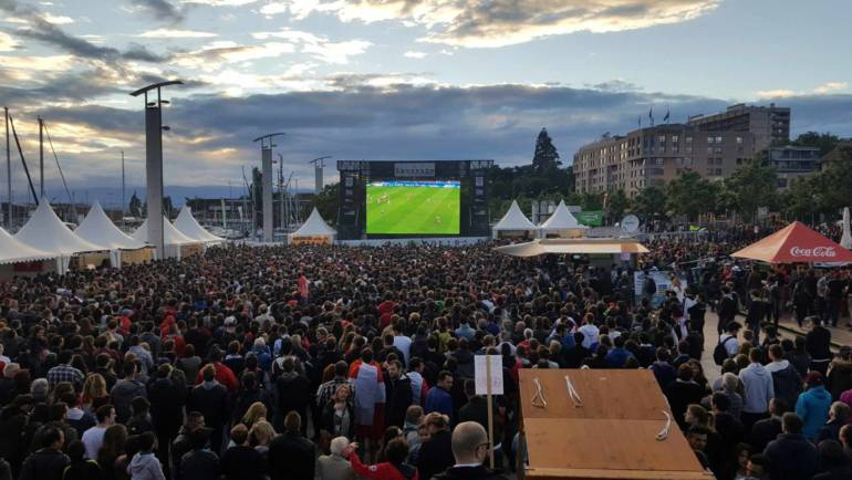 Mondial de Football – Fan zone d'Ouchy